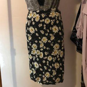 Sunflower Midi Skirt
